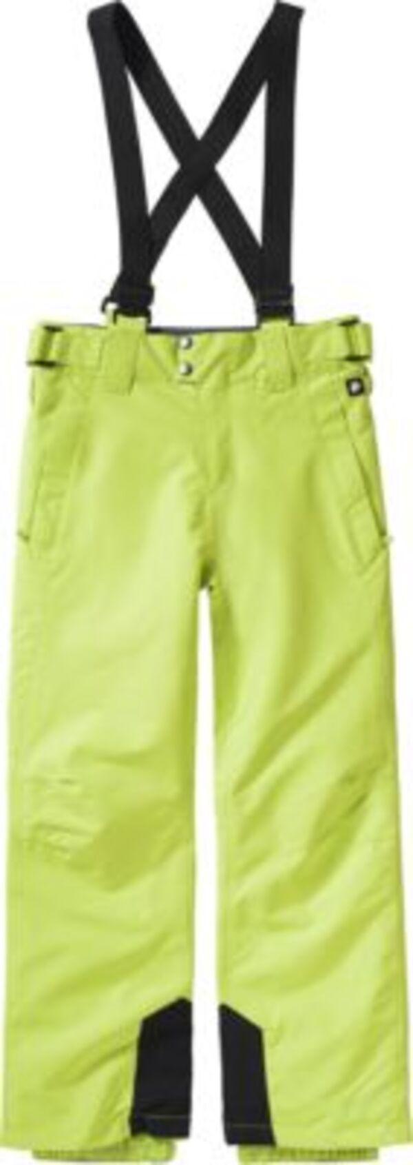 Skihose BORK  neongrün Gr. 176 Jungen Kinder