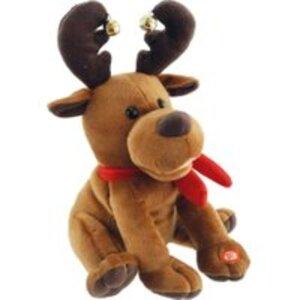 Bieco Weihnachtsrentier mit Sound tanzend