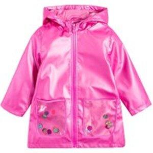 COOL CLUB Kinder Regenmantel für Mädchen 122