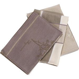 Esposa Geschirrtuch-set 3-teilig , Criollo 3ER Pack , Taupe , Textil , Graphik , 50x70 cm , Jacquard , saugfähig, strapazierfähig , 005284001304