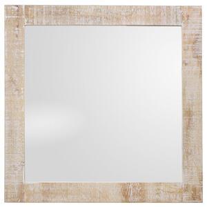 Landscape Spiegel , Delhi , Glas , massiv , 74x74x3 cm , rückseitig bedruckt,Echtholz , 001071005802