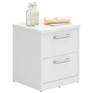 Xora Kommode weiß , Easy , Metall , 2 Schubladen , 38x46x36 cm , Nachbildung , Typenauswahl , 000017003001