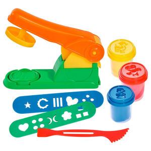 Simba Knetmasse , Knetpresse A&f , Blau, Multicolor, Rot , Kunststoff , nicht zum Verzehr geeignet , 004130000503