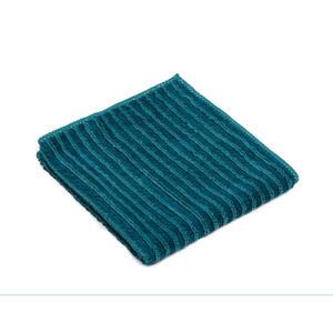 XXXLutz Geschirrtuch-set , Polier & Geschirrtuch 5ER Pack , Petrol , Textil , 30x30 cm , Mikrofaser , 004118050403