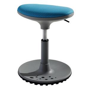 Paidi Hocker netz blau, grau , Speedy , Metall, Kunststoff, Textil , 38x38-48x27.5 cm , Netz , Stoffauswahl , 000345029204