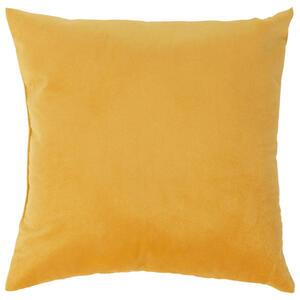Boxxx Zierkissen 40/40 cm , Yvonne , Gelb , Textil , Uni , 40x40 cm , 007696005105