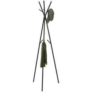 Carryhome Kleiderständer schwarz , Trio , Metall , 50x171x50 cm , pulverbeschichtet , 000537000602