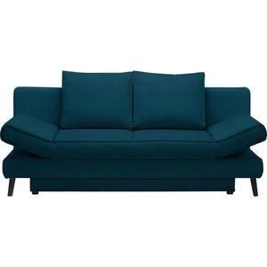 Xora Schlafsofa petrol , Sidney , Textil , Uni , 200x85x90 cm , Stoffauswahl , 002469018913