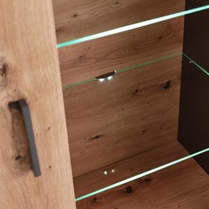 Hom`in Glasbodenbeleuchtungs-set 2-teilig , Flash -Hom In- , Metall, Kunststoff, Glas , 000687042306