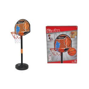 Simba Basketballset , 107407609 , Orange, Schwarz , Kunststoff, Textil , 32x40x9 cm , 004500040201