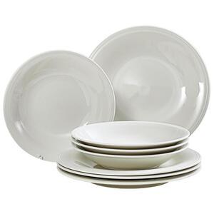 Villeroy & Boch Fine china tafelservice 8-teilig , 19-5284-8717 , Creme , Keramik , Uni , 27x14x27 cm , glänzend , 003407046208