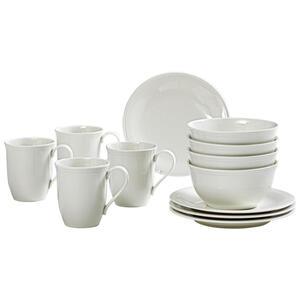 Villeroy & Boch Fine china frühstücksservice , 19-5284-9028 , Creme , Keramik , Uni , 24x23x29 cm , glänzend , 003407046209