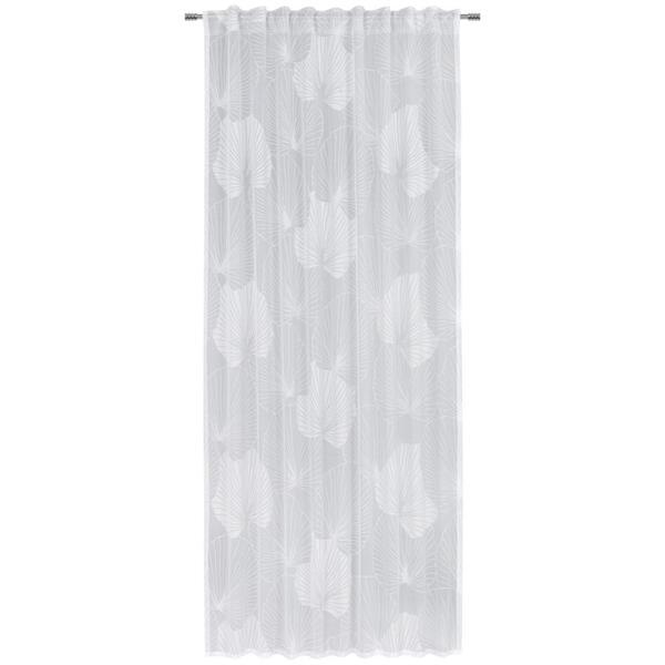 Esposa FERTIGVORHANG 135/245 cm , Saskia , Weiß , Textil , 135x245 cm , 003115027001