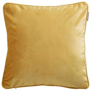 Ambiente Kissenhülle goldfarben 50/50 cm , Zenato Samt Uni , Textil , Uni , 50x50 cm , Samt , 003917045711