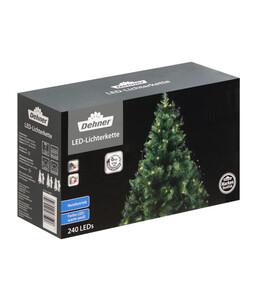 Dehner LED-Lichterkette für Weihnachtsbäume, warmweiß