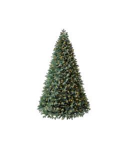 Dehner künstlicher Weihnachtsbaum 'Alva' mit LED-Beleuchtung, 240 cm