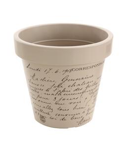 Kunststoff-Topf mit Schriftdruck, Ø 40 cm