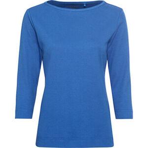 """Adagio Shirt """"Anja"""", 3/4 Ärmel, U-Boot, Uni, für Damen"""