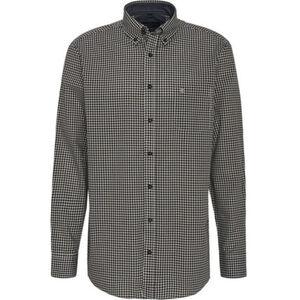 Casa Moda Hemd, Button-Down, Brusttasche, Kariert, für Herren