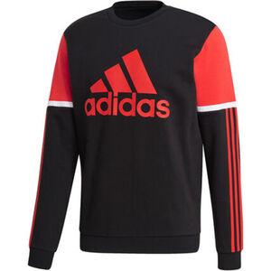 adidas Sweatshirt, Logo, Rundhals, 3-Streifen, für Herren