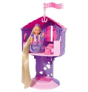Simba Evi Love Märchenwelt Rapunzel mit Turm