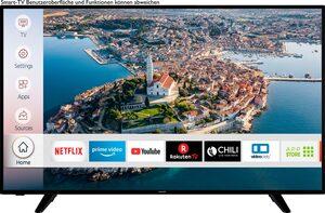Hanseatic 58H600UDS LED-Fernseher (146 cm/58 Zoll, 4K Ultra HD, Smart-TV, HDR10, Gratis: 6 Monate HD+ im Wert von 34,50)