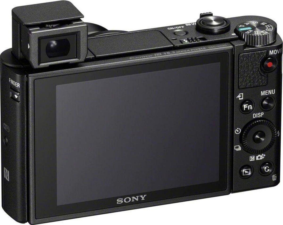 Bild 2 von Sony »DSC-HX95« Kompaktkamera (ZEISS® Vario-Sonnar T* 24-720 mm, 18,2 MP, 28x opt. Zoom, NFC, WLAN (Wi-Fi), Bluetooth, Display, 4K Video, Augen-Autofokus)