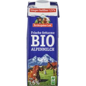 Berchtesgadener Land Frische Bio-Alpenmilch
