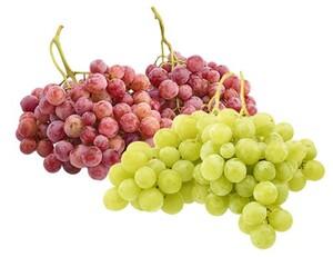 Trauben, weiß oder rot