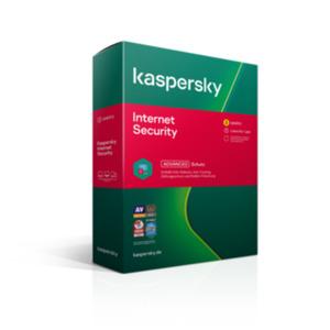 Kaspersky Internet Security 3Geräte | 1Jahr | BOX