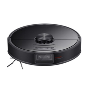 Roborock S6 MaxV + Zubehör-Kit Staubsauger-Roboter Kamera Lidar WLAN schwarz