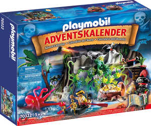 PLAYMOBIL  						Adventskalender 70322 »Schatzsuche in der Piratenbucht«