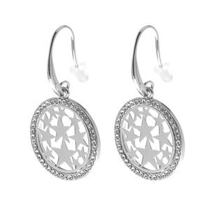 Damen Ohrringe mit Stern-Motiv