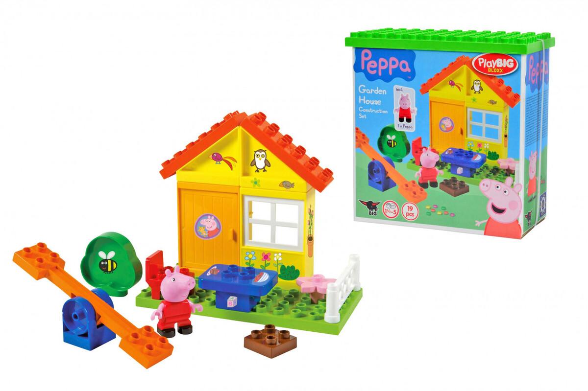 Bild 2 von BIG Bloxx Peppa Pig Garden House