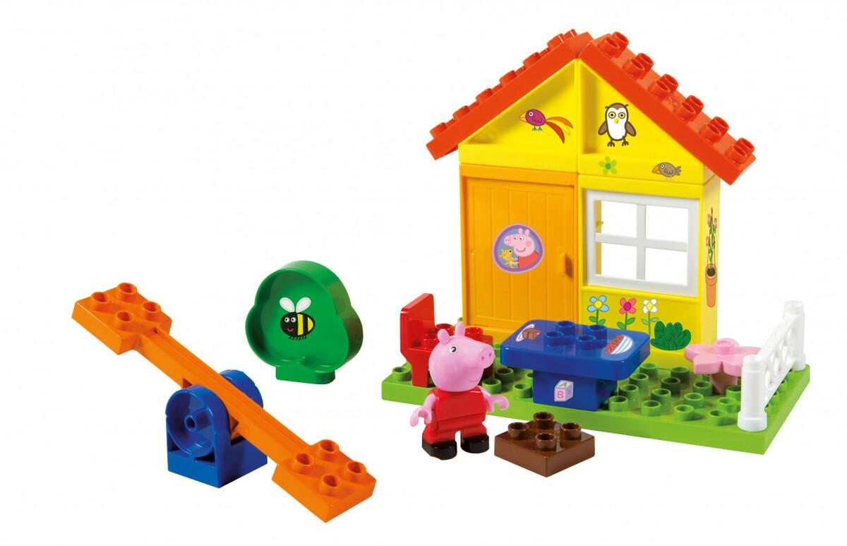 Bild 4 von BIG Bloxx Peppa Pig Garden House