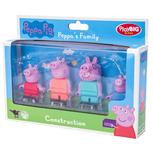 PlayBIG Bloxx Peppa Pig Peppa's Family
