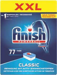 finish Spülmaschinentabs Classic, All-in-1 oder Quantum