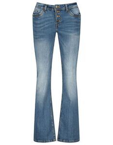 Damen Jeans im ausgestellt-Look
