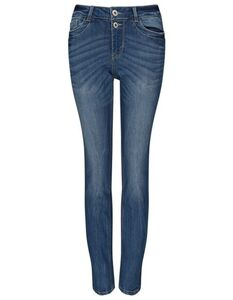 Damen Slim Fit Girlfriend-Jeans