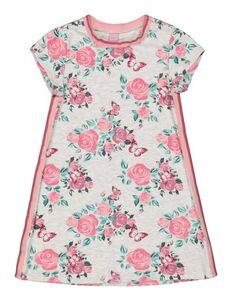 Mädchen Kleid mit floralem Muster
