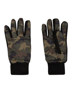 Herren Handschuhe mit Camouflagemuster