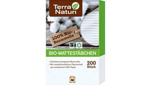 Terra Naturi Bio-Wattestäbchen