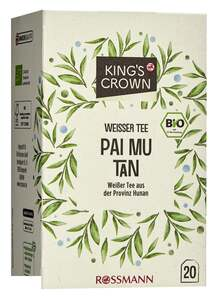 King's Crown Bio Weißer Tee Pai Mu Tan