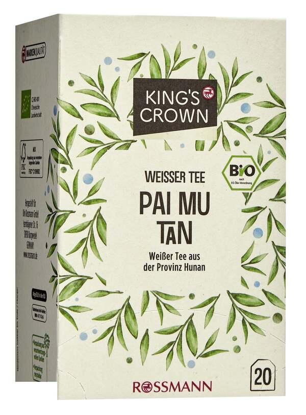King's Crown Bio Weißer Tee Pai Mu Tan