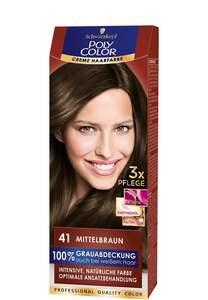 Schwarzkopf Poly Color Creme-Haarfarbe Mittelbraun