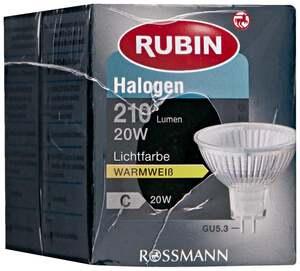 RUBIN Halogen Reflektor GU5.3 20W