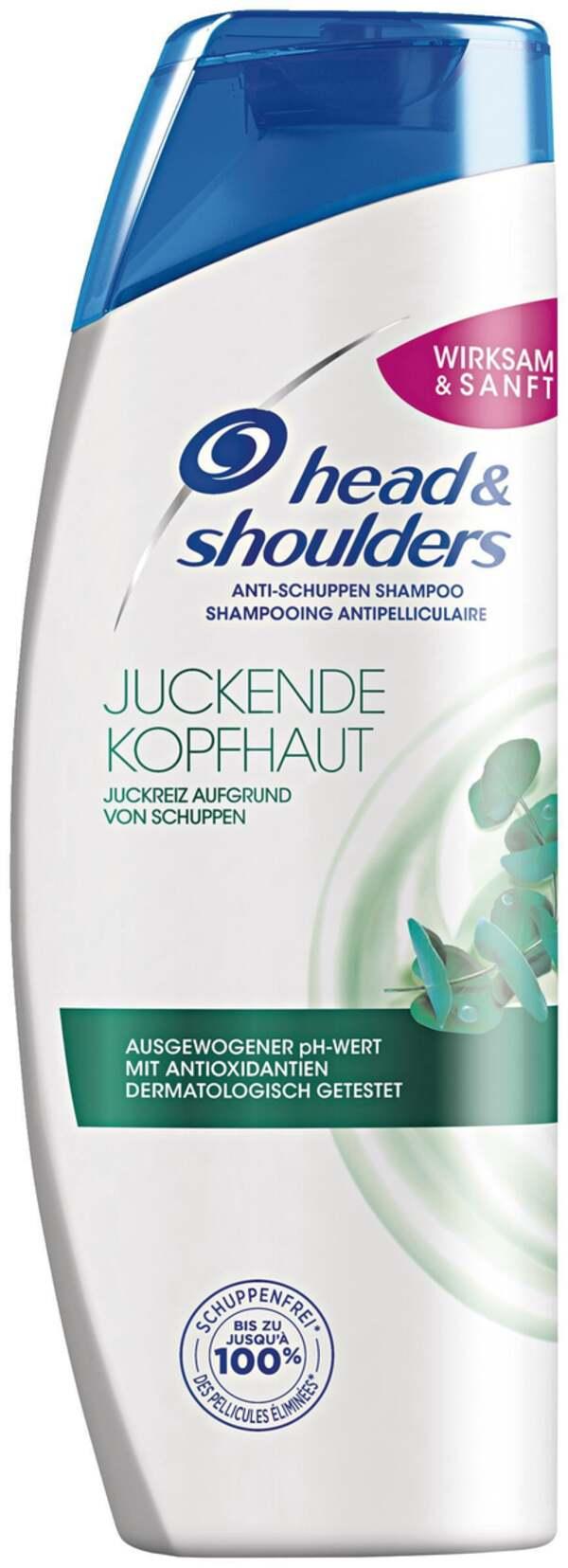 head & shoulders Anti-Schuppen Shampoo juckender Kopfhaut