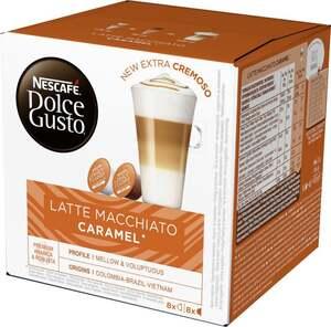 """Nescafé Dolce Gusto Kapseln """"Latte Macchiato Caramel"""""""