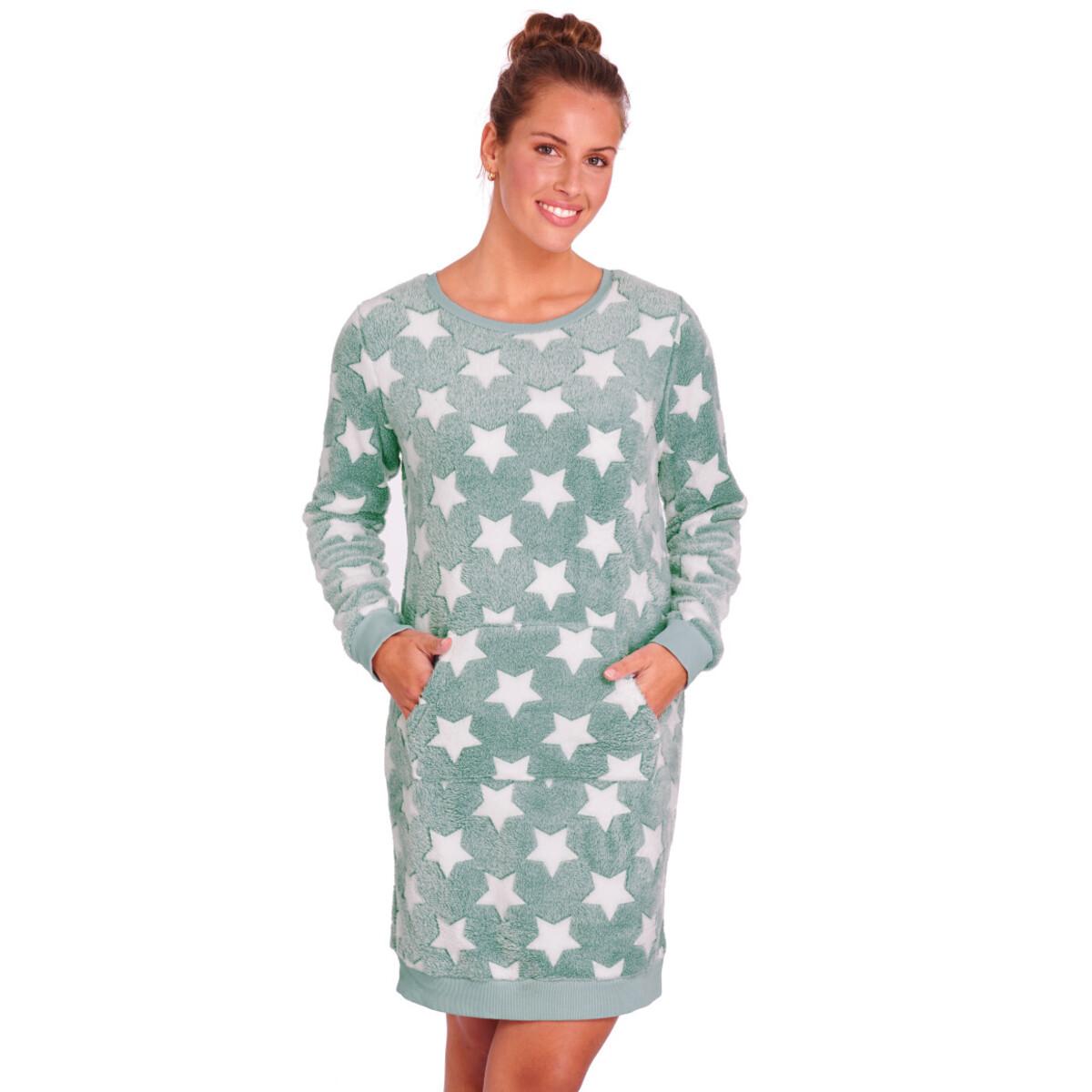 Bild 2 von Damen Kuschelkleid mit Stern-Allover
