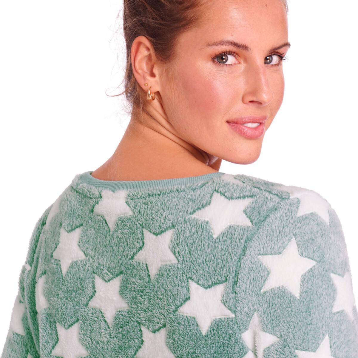 Bild 5 von Damen Kuschelkleid mit Stern-Allover